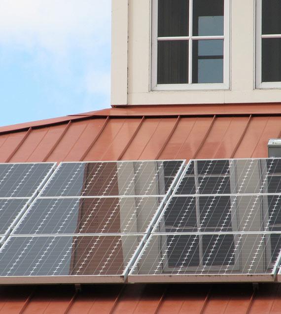 Solaranlage als alternative Energie bei Brunner bei Landshut
