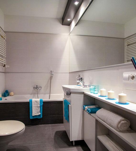 Sanierung von Bad bei Brunner Heizung & Sanitär